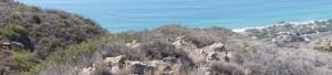 Panorama über Malibu