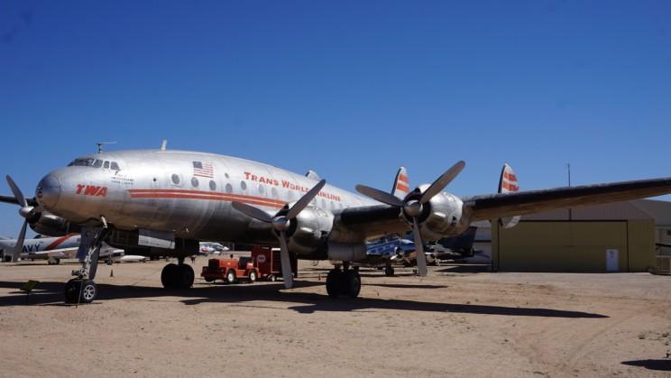 TWA Passagiermaschine