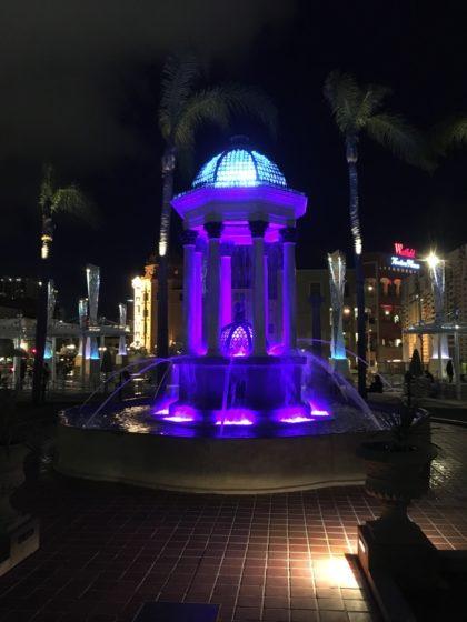 Brunnen im Gaslamp Quarter