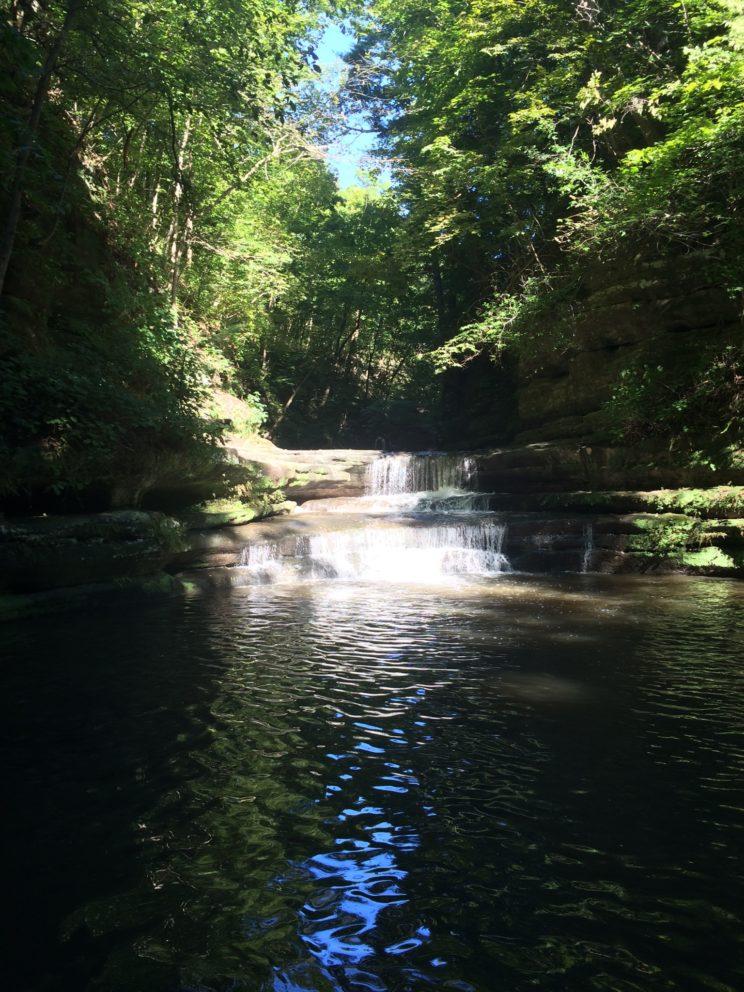 Klein aber fein - Matthiessen State Park